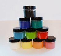 Hochwertige Künstlerpigmente 10er Set Farbpigmente auch einfärben Epoxidharz