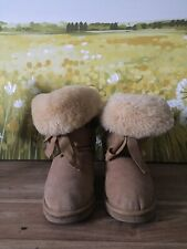 Gorgeous LFA Love From Australia  Comfy Soft Suede Sheepskin Boots Shoes 36