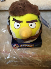 NEW Star Wars Angry Birds Plush 8 Inch Han Solo No Sound