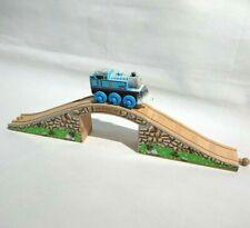 Thomas Wooden Railway Train Sets - 3 Part Stone Bridge - Brio ELC Learning Curve