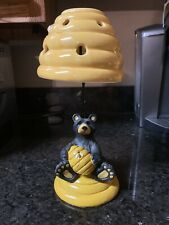 Bear Beehive Bees Tea Light Candle Lamp Holder