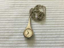 Swiss Made 17 Jewels Lucerne Mechanical Wind Up Necklace Pendant Watch