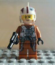 LEGO STAR WARS RESISTANCE XWING PILOT MINIFIG MINIFIGURE 75102 FREE SHIPPING