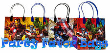 18 pcs Marvel Avengers Party Favor Bags Candy Treat Birthday Loot Gift Sack Bag