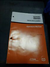 CASE 1818 UNI-LOADER OPERATIONS MANUAL Burl. 9-11440