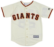 MAJESTIC Youth San Francisco Giants Buster Posey #28 Alternate Jersey sz Medium