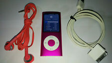 Apple iPod Nano 4th Generation Pink 8gb with accesories - Free Shiipping