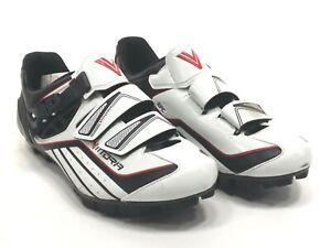 Vittoria ZOOM MTB Mountain Bike Shoes, White, 40 EU/7.5 US