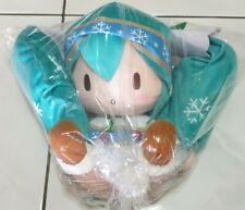Hatsune Miku - Snow Miku 2015 Special Fluffy Stuffed Plush [SEGA]