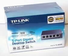 TP-Link TL-SG105 - 5-Port Gigabit Ethernet 1000Mbps Desktop Switch - New Sealed