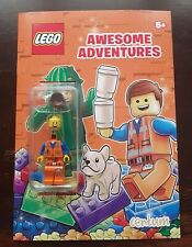 Lego Awesome Adventures - Activity Book with Emmet MiniFigure - New