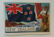 Topps Flags of the World Card #68 NEW ZEALAND