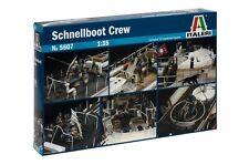 Italeri Models 1/35 WWII S-100 Schnellboot Torpedo Boat Crew for Italeri