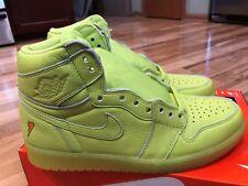 Nike Air Jordan 1 Retro Hi OG Gatorade Lemon Lime Cyber Yellow AJ5997-345 Sz 10