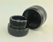 C Maglite C Cell Cap set 1/2-28 Replacement Made from 7075 T6 Aluminum
