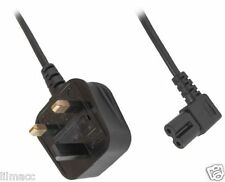3m UK Mains to IEC C7 Power Lead, Cable for Samsung, LG and Philips LED TVs