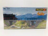 FALLER 1231 HO Scale Building Kit - Dam Bridge / Dammbrucke