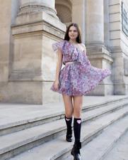 *GIAMBATTISTA VALLI x H&M FLORAL ONE SHOULDER DRESS VALENTINES UK 4 EUR 32 US 0
