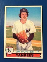 1979 Topps #670 Jim Hunter Yankees