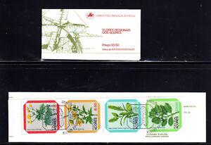 PORTUGAL-AZORES #325-328a  1981  FLOWERS  MINT  VF NH  O.G  C/B  CTO  a