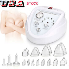 Breast Enlarge Vacuum Therapy Massage Slimming Skin Care Enhance Shaping Machine