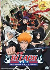 Bleach Movie Collection DVD (4 Movie + 2 Special) with English Dubbed