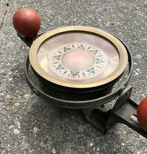 *VTG. Dirigo Magnetic Float/Liquid Gimbal Nautical Decor Vintage Ship Compass