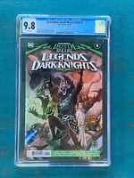 Dark Knights Death Metal Legends of the Dark Knight #1 CGC 9.8 1st Robin King 🔑