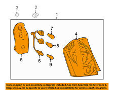 Pontiac GM OEM 09-10 Vibe-Taillight Tail Light Lamp Assy Left 88975724