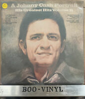 STILL SEALED Johnny Cash - A Portrait -Greatest Hits Volume II Vinyl Lp MINT