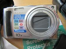 Panasonic LUMIX DMC-TZ4 8.1MP Digital Camera - Silver- EXCELLENT CONDITION