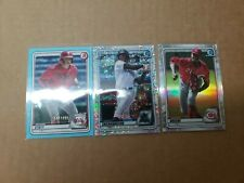 Lot (3) 2020 BOWMAN Chrome Numbered Rookie Cards