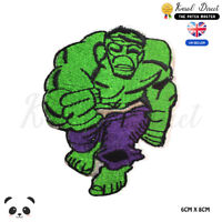 Hulk Superhero Movie Embroidered Iron On Sew On Patch Badge For Clothes etc