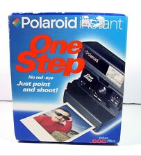 Polaroid ONE STEP 600 Instant Film Camera UNOPENED & SEALED In Box NOS