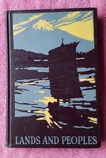 Grolier LANDS AND PEOPLES Volume 4 IV Southern Asia and the Far East 1959