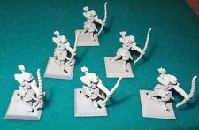 Aeg L5R Clan War - 6 Infantry Archer Samurai - Good for any Clan - Oop Htf