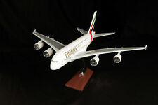 More details for large model aircraft high quality solid resin/emirates/qatar/british/american/