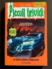 Piccoli Brividi LA MACCHINA STREGATA # 83 Libro R.L. Stine 2001 Con Adesivi