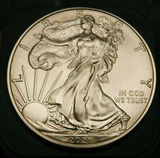 2021 $1 American Silver Eagle 1 oz. .999 Silver Gem Bu Brilliant Uncirculated
