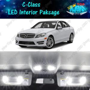 CANBUS White LED Interior Lights Kit For 2008-2014 Mercedes Benz W204 C250 C300