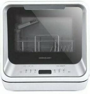 Cookology Mini Portable Dishwasher - Silver (CMDW2SL) Graded
