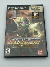 Mobile Suit Gundam Zeonic Front Sony PlayStation 2 2002 Disc Case Video Game PS2