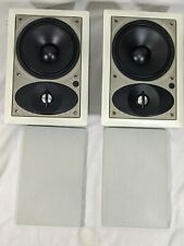 Paradigm Reference AMS 250 In-Wall 2-Way Speakers w/ Grills, NO Brackets