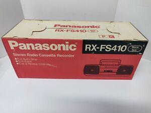 Panasonic RX-FS410 FM/AM Radio Cassette Player Boombox New in box NOS