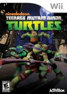 Teenage Mutant Ninja Turtles - Original Nintendo Wii game