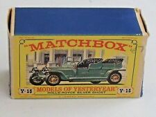 MATCHBOX -  Y 15 - 1907 ROLLS ROYCE SILVER GHOST - MINT AND BOXED