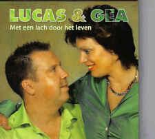 Lucas&Gea-Met Een Lach Door Het Leven cd single