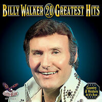 Billy Walker: 20 Greatest Hits ~ SEALED CD (Mar-2006, Gusto Records (USA))