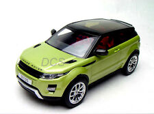 WELLY GT AUTOS  LAND RANGE ROVER EVOQUE SUV GREEN 1/18 DIECAST CAR 11003