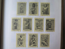 SET of 10 NAUGHTY BOYS MATCH BOX LABELS c1950s NORMAL SIZE LABEL MADE in BELGIUM